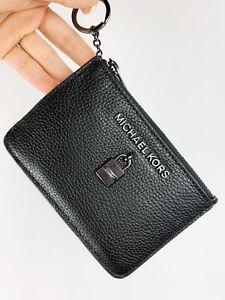 7806df44fbf3cd Michael Kors Jet Set Travel Adele Zip Coin Wallet ID Keyring Card ...
