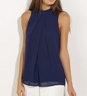 Fashion Summer Women Vest Top Sleeveless Shirt Blouse Casual Tank Tops T-Shirt