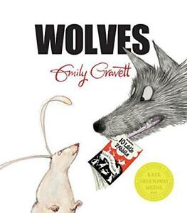 Wolves-by-Gravett-Emily-NEW-Book-FREE-amp-FAST-Delivery-Paperback
