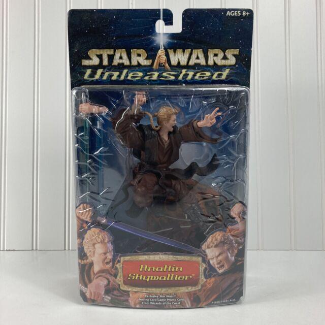 Star Wars Unleashed Anakin Skywalker Figure Statue Hasbro 2002 New Sealed