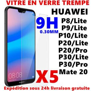 Verre-Trempe-Pour-HUAWEI-P8-P9-P10-P20-LITE-PRO-P30-Film-Protection-Ecran-Vitre