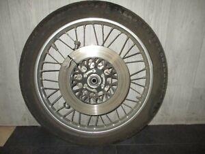 Vorderrad-Felge-mit-Bremsscheibe-fuer-Suzuki-GN-250-Typ-NJ41A