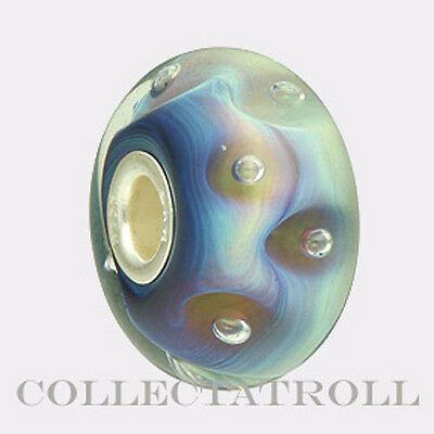 Authentic TrollBeads Silver Azure Bubbles Bead Trollbead  61403  *LAST ONE*
