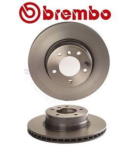 For BMW E60 525i Front Brake Kit Vent Coat Disc Brake Rotors Ceramic Pads Brembo