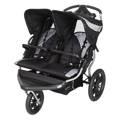 Factory New Baby Trend Navigator Lite Double Jogger
