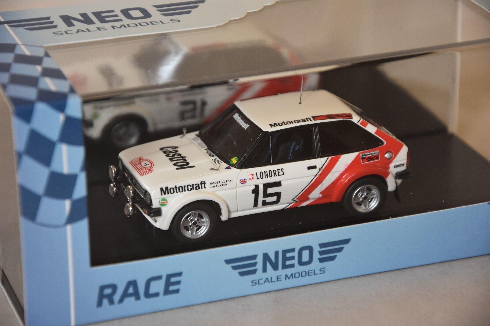 NEO 45381 - Ford fiesta Fiesta 1600 Gr.2 rallye Monte Carlo - 1979   1 43