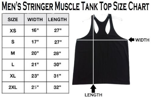 Meet At The Bar Stringer Bodybuilding Vest Tank Top Beast Muscle Gym buff weight