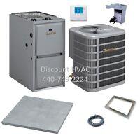 Ducane By Lennox 70,000 Btu 95% Gas Furnace + 3 Ton 13 Seer A/c System R-410a