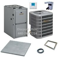 Ducane By Lennox 70,000 Btu 95% Gas Furnace + 2.5 Ton 13 Seer A/c System R-410a