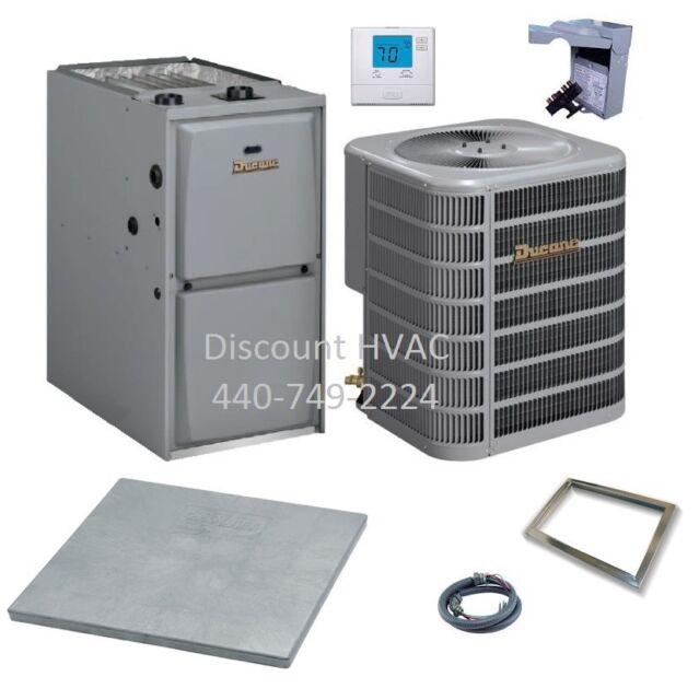 Ducane by Lennox 90,000 BTU 95% Gas Furnace + 3 ton 13 SEER A/C System  r-410a