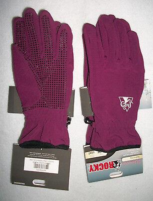 Rocky women/'s Fleece Soft Shell Glove Size S//M color is Raspberry 608280WMT
