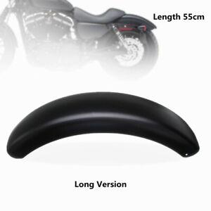 6-1-039-039-55cm-Garde-Boue-Arriere-Plastron-Long-Version-pour-Harley-Davidson