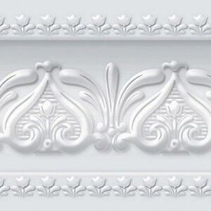 Details About Silver Wallpaper Borders Peel And Stick Roll Scroll Home Depot Interior Ideas