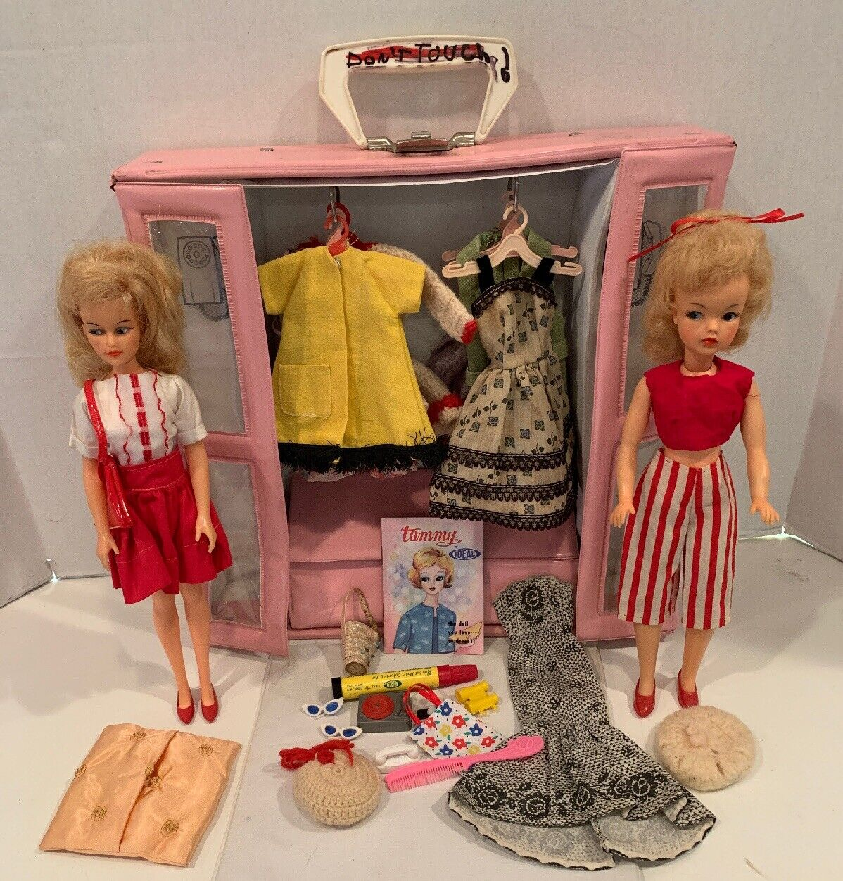 Vintage Misty Tammy Double Phone Stiefelh Case + Dolls, Clothes & Accessories