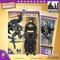 Batman Black 8 Figure Gold Series Retro-mego Le500