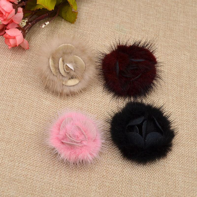 1 Pc Accessory Shoe Buckle Flower Fluffy Shoe Clip Wedding Bridal Decor Elegant