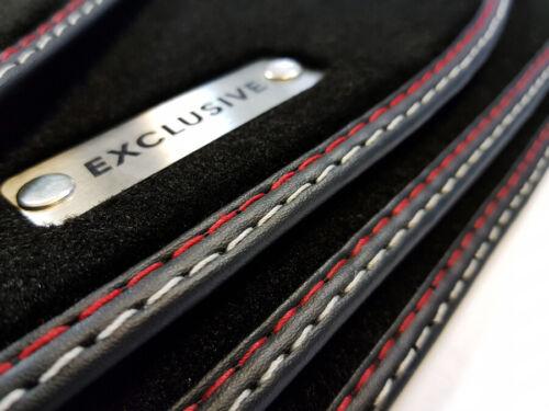 Exclusive tapices para Lexus is 250 II año 2005-2013 mejor calidad logotipo de metal