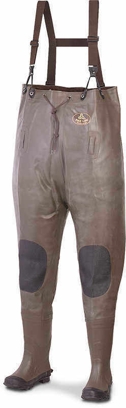 Size 13 Pro Line Stream Rubber Chest Waders