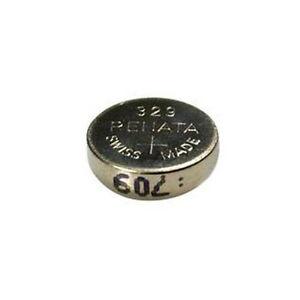 #329 (SR731SW) Renata Mercury Free Watch Batteries - Strip of 10