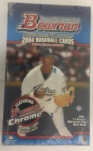 2004-Bowman-Draft-Picks-and-Prospects-Baseball-Hobby-Box-Factory-Sealed-24-Pack