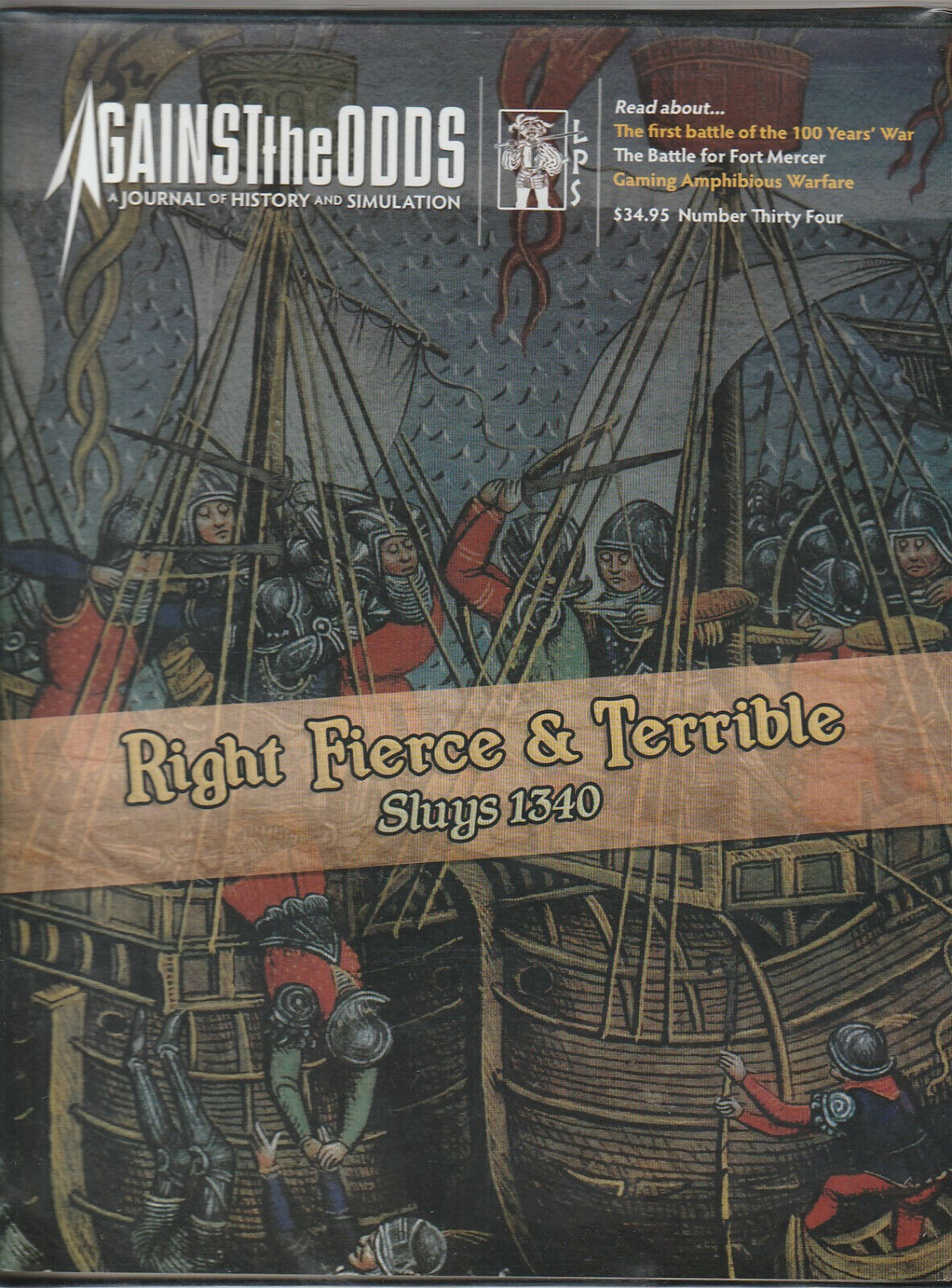 Right Fierce & Terrible  Sluys 1340  Against the Odds Unpunched