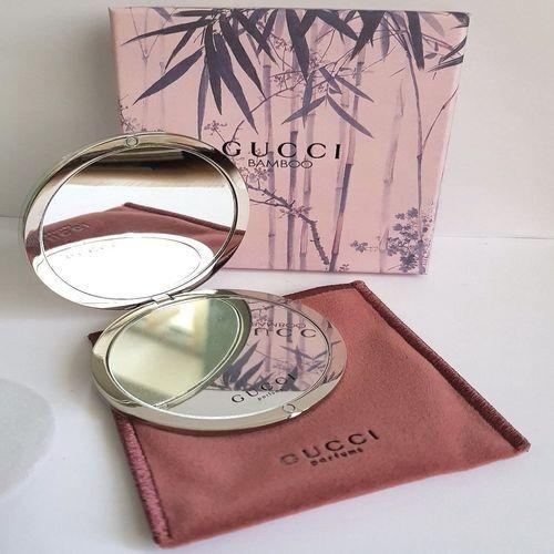 New Gucci Bamboo Compact Handbag