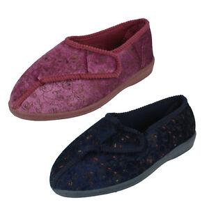 Have An Inquiring Mind Mujer Emily Rasgar Cinta Cierre Zapatillas Zapatillas De Andar Por Casa Calzado De Mujer