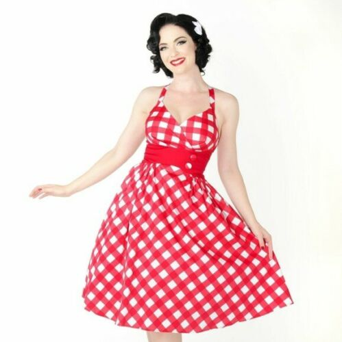Pinup Couture RARE Picnic Zooey Dress LARGE
