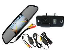 """4.3"""" TFT LCD Wireless CCD Car Rear View Backup Camera BMW 1/3/5/7 X3 X5 X6 Z4"""