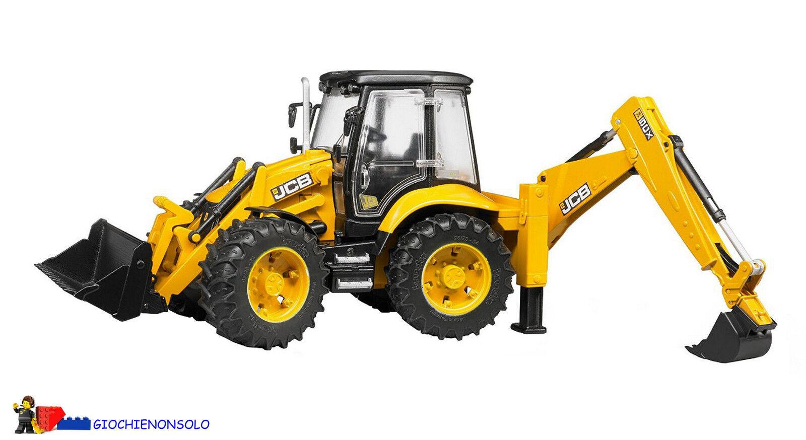 BRUDER 02454 - JCB SCX ECO BACKHOE LOADER