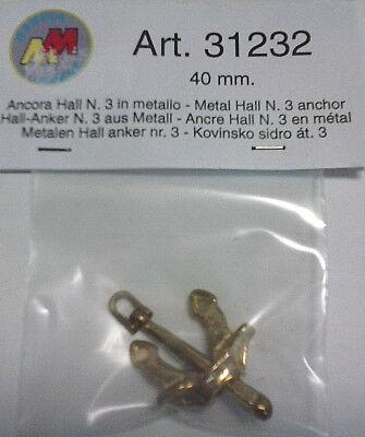 AMATI ACCESSORI PER NAVE ELICA METALLO QUADRIPALA 50mm SINISTRA ART 4829//50