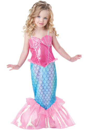 Brand New Mystical Mermaid Deluxe Outfit Toddler Costume