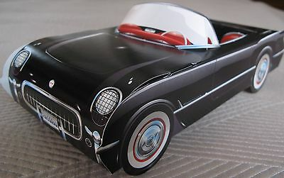 5 Different Classic Cardboard Cars Food Serving Tray  Party Planner Table Center