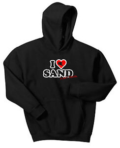 LOVE SAND DUNES JUST RIDE HOODIE SWEAT SHIRT GLAMIS ATV QUAD PISMO BANSHEE