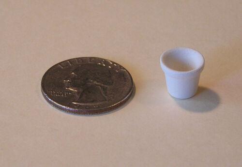 """Unpainted bisque mini pottery by Tim Van Schmidt /""""Number 1 Flower Pot/"""""""