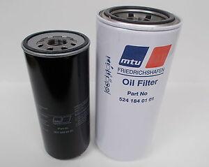 Details about OIL & FUEL Filter 5241840101 + 20922801 for MTU / Detroit  12V4000, 16V4000