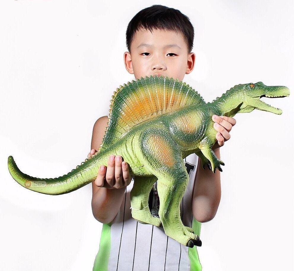 Big Dinosaur Jurassic Spinosaurus Soft Plastic Action Toy Figures Kids Toys Gift