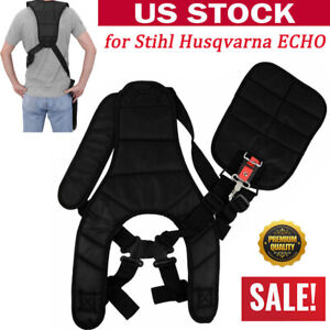 Strimmer-Double-Shoulder-Harness-Strap-Fit-Stihl-Husqvarna-ECHO-Cutter-amp-Trimmer
