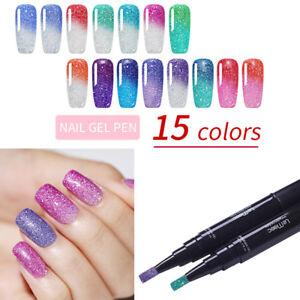 LEMOOC-5ml-Nail-Gel-Pen-Thermal-UV-Gel-Holographic-Soak-Off-Gel-Polish