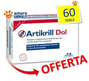 NBF-Lanes-Artikrill-Dol-60-Perle-Riduce-infiammazione-e-dolori-articolari-cani