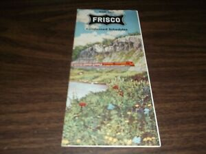 JUNE-1961-SLSF-FRISCO-CONDENSED-SYSTEM-PUBLIC-TIMETABLE