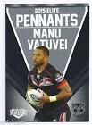 2015 NRL Elite Pennants (EP 74 / 80) Sam TOMKINS Warriors