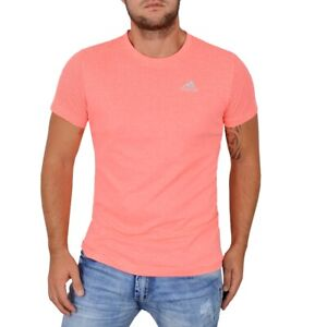 adidas t shirt herren pink