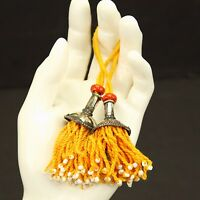 PAIR Tribal Jewelry Clothing TASSELS Belly Dance Kuchi Bellydance 729f7