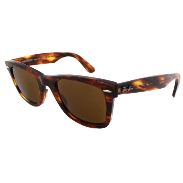 cd14e70dd ... clearance ray ban sunglasses wayfarer 2140 954 light tortoise brown  medium 50mm 0ab67 49027