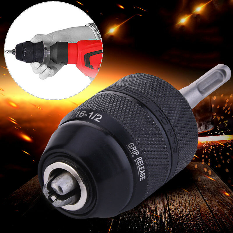 2-13mm heavy duty 1//20-20UNF quick change keyless drill chuck tool TDO