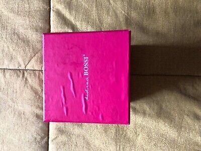 Glorioso Scatola Box Con Set Coordinato Cravatta Pochette Gemelli Colore Rosso