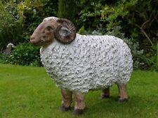 Large Garden Ram Farm Animal Sheep Lamb Family