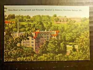 Excelsior Springs, MO Postcard McCLEARY CLINIC & HOSPITAL
