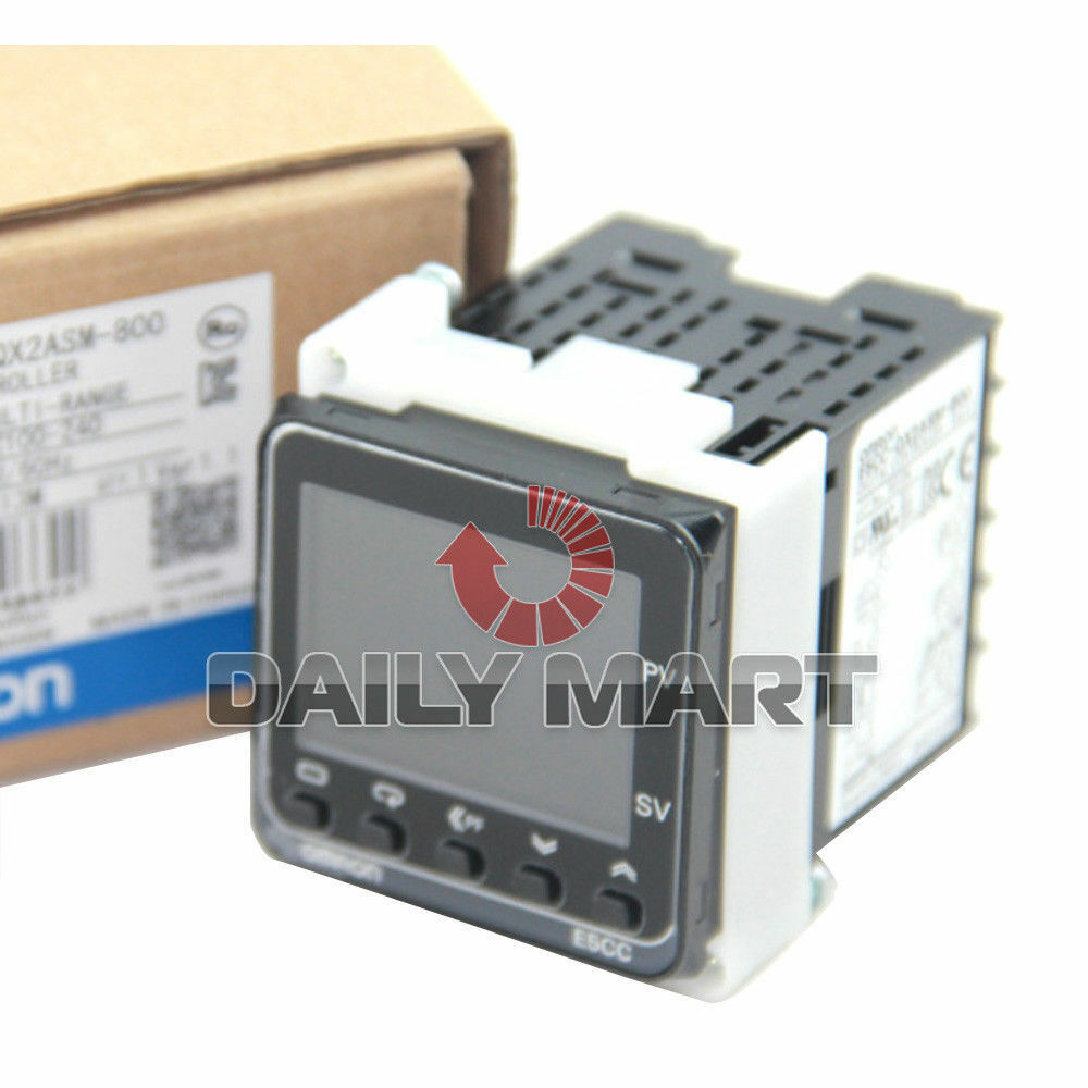 OMRON NEW E5CC-QX2ASM-800 100-240VAC DIGITAL TEMPERATURE CONTROLLER